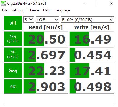 Qumox-Micro-SD-HC-32gb-speed-test